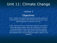 Lecture - Ann Arbor Earth Science