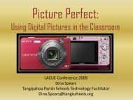 Using Digital Pictures in the Classroom