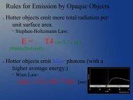 Spectra - Ann Arbor Earth Science