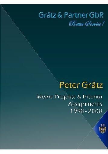 Meine Projekte - Graetz-consulting.de
