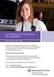 Vermittlung von europäischen Haushaltshilfen - Ahz-ochs.de