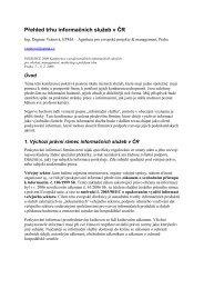 Autor: Dagmar Vránová, EPMA - Agentura pro evropské projekty a ...