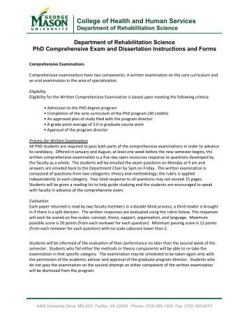 Phd dissertation forms
