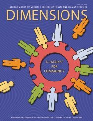 Dimensions - College of Health and Human Services - George ...