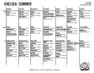 CHELSEA : SUMMER - Crunch