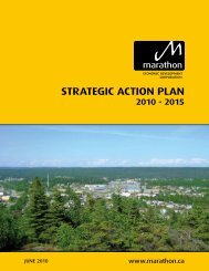 STRATEGIC ACTION PLAN - Marathon