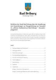 Richtlinien und Antrag zum Fassadenprogramm - plan-lokal
