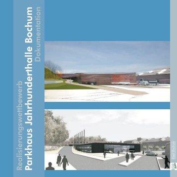 Parkhaus Jahrhunderthalle Bochum - Geodatenportal Bochum