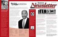 December 2007 v5.0newsletter (Page 1) - Genesys Athletic Club