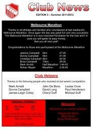 Club Helpers - Preston Athletic Club Inc