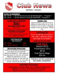 RIPPER ROHAN! - Preston Athletic Club Inc
