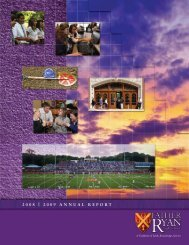 2008 | 2009 annual report - Father Ryan High School