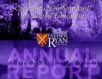 2009-2010 Annual Report - Father Ryan High School