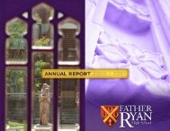 Annual Report 2010-2011 - Father Ryan High School