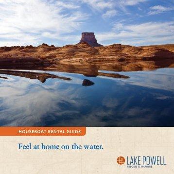 Lake Powell Resorts & Marinas Houseboat Rental Guide