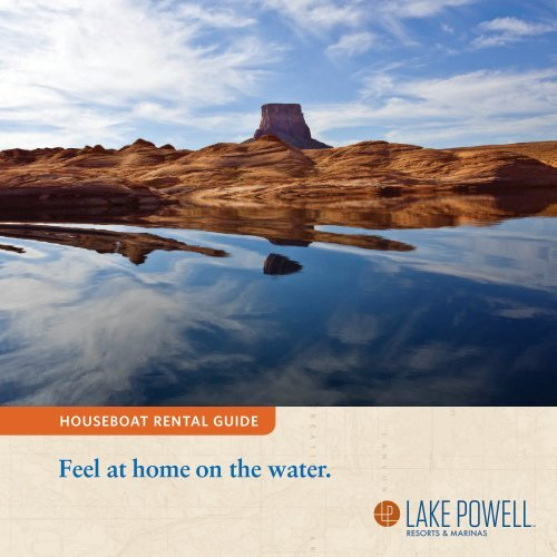 Lake Powell Resorts Marinas Houseboat Rental Guide