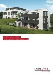 Attraktives Wohnen im Grünen Remseck-Neckarrems, Mühläckerstraße 28/30