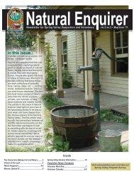 Natural Enquirer May/June 2011 - Schaumburg Park District