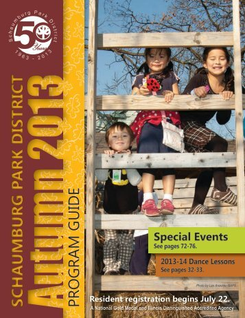 Schaumburg Park District Fall 2013 Program Guide