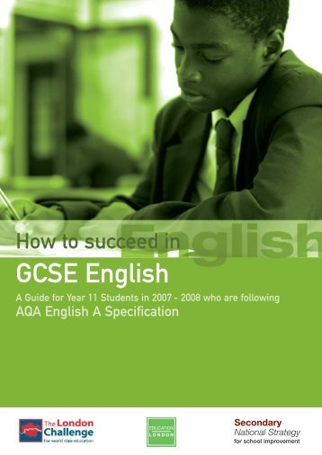 How to Succeed in GCSE English - Glenthorne High School
