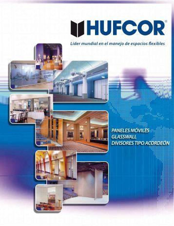 paneles móviles glasswall divisores tipo acordeón - Hufcor Mexico ...