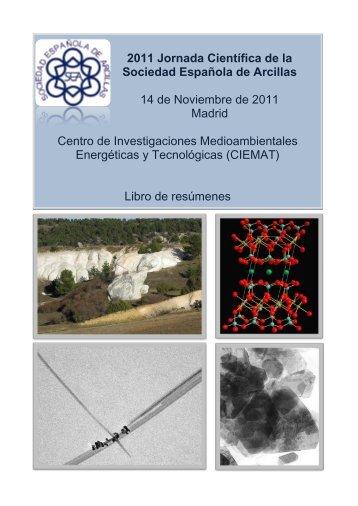 2011 Jornada Científica de la Sociedad Española de Arcillas 14 de ...