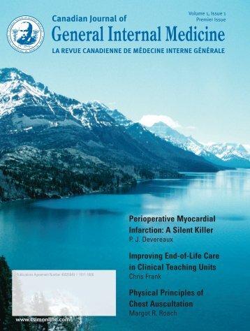 Perioperative Myocardial Infarction - Andrew John Publishing Inc.