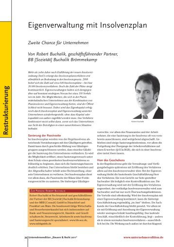 Unternehmer Edition – Special Steuern & Recht 04/2011 - Buchalik ...