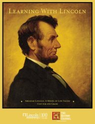 LEARNING WITH LINCoLN