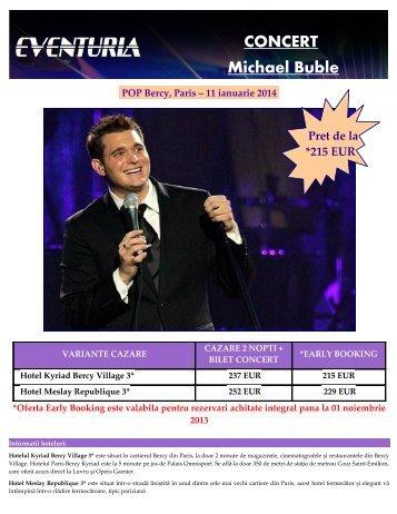 Concert Michael Buble la Paris 11 ianuarie 2014.pdf - Activ Tours ERP