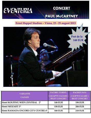 CONCERT-PAUL-McCARTNEY-LA-VIENA-27 ... - Activ Tours ERP