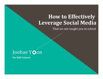 esip-how-to-effectively-leverage-social-media