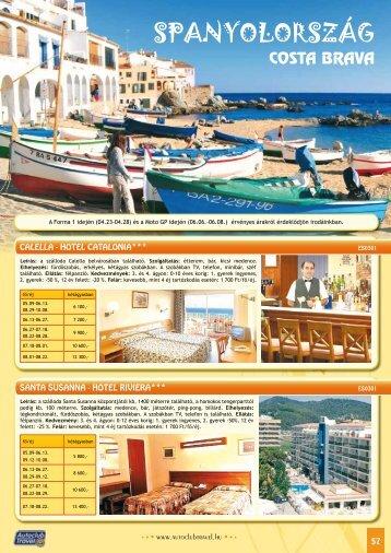SPANYOLORSZÁG - Autoclub Travel