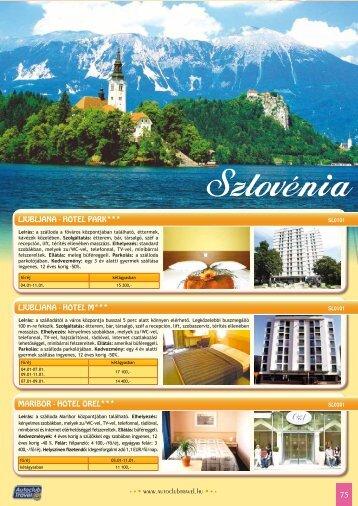 szlovénia - Autoclub Travel
