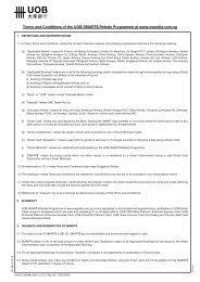 Terms and Conditions of the UOB SMART$ Rebate ... - Expedia