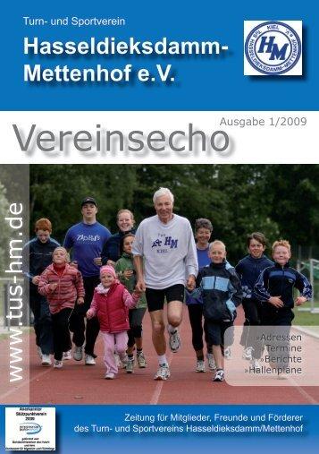Vorschau - TuS Hasseldieksdamm-Mettenhof