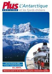 L'Antarctique - Plusmagazine.be