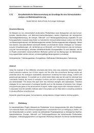 5.12 Einzelbetriebliche Datenauswertung als Grundlage für eine ...