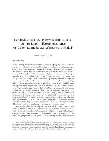 Estrategias Prácticas - Frente Indígena de Organizaciones ...