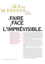 Faire face à l'imprévisible, La Recherche, 2003 - Patrick Lagadec