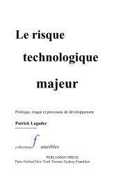 Conclusion - Patrick Lagadec