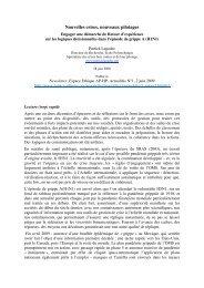 Nouvelles crises, Nouveaux pilotages - Engager ... - Patrick Lagadec