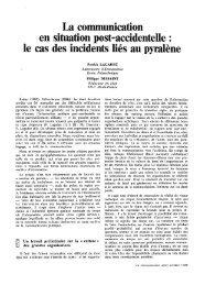 La communication _ en situation post-aceidentefle : - Patricklagadec ...