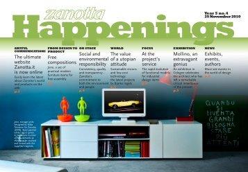 newsletter 4-10 ingl_newsletter2 - Zanotta SpA