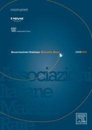 Associazioni Italiane Malattie Rare 20082009 - Associazione CFS
