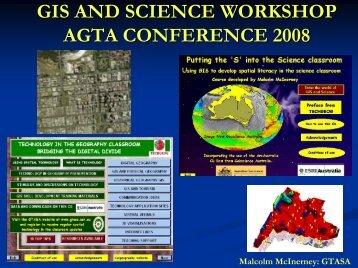 GIS and Science - Australian Geography Teachers Association