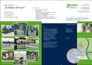 Unser aktueller Produktflyer als PDF - Protec Zauntechnik GmbH