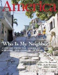 the national catholic weekly jan. 21-28, 2013 $3.50 - America