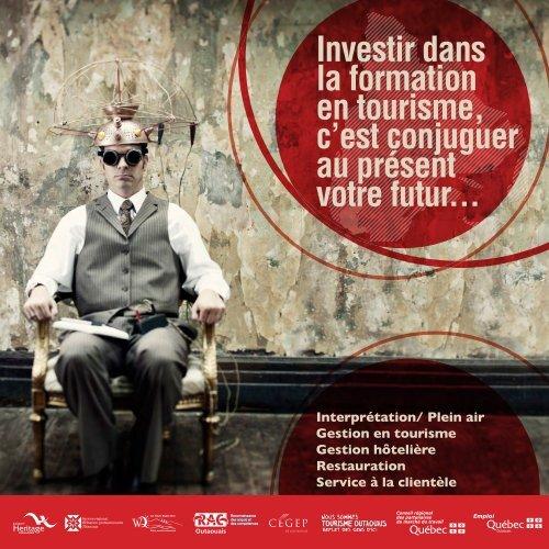 Formation en tourisme - Tourisme Outaouais