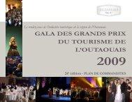 24e ÉDITION - Gala des Grands Prix du tourisme de l'Outaouais